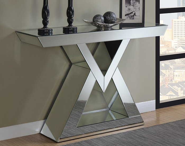 Mirrored console / display