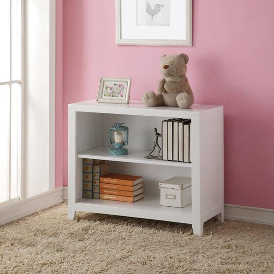 White finish bookcase