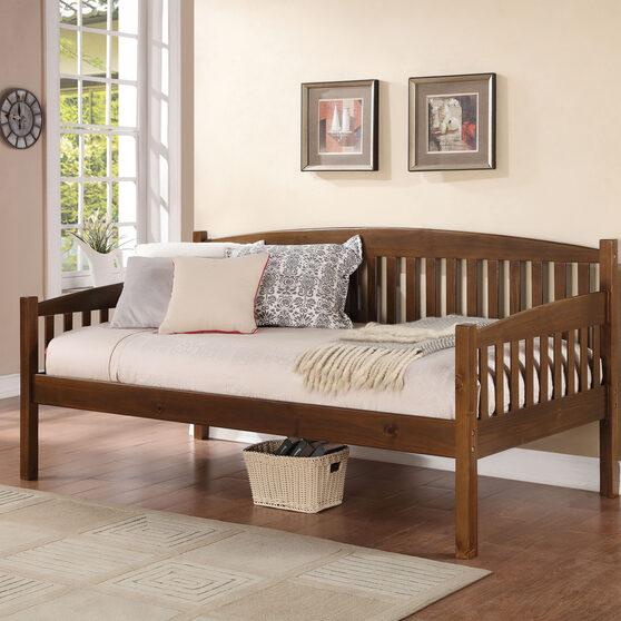 Antique oak daybed