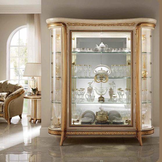 Classic style glossy finish traditional Italian china