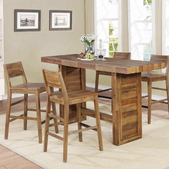 Tucson rustic varied natural bar table