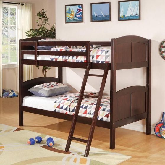 Twin/twin bunk bed w/ optional storage