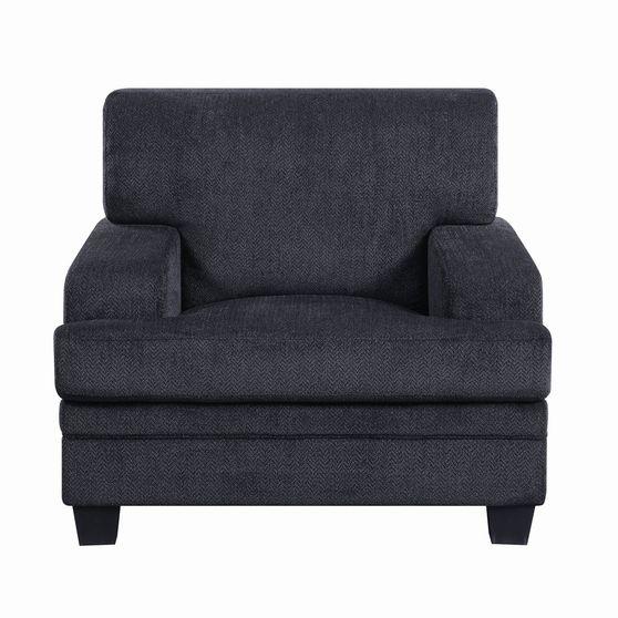 Casual grey fabric chair
