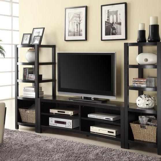 Modern Wall Unit TV Stand