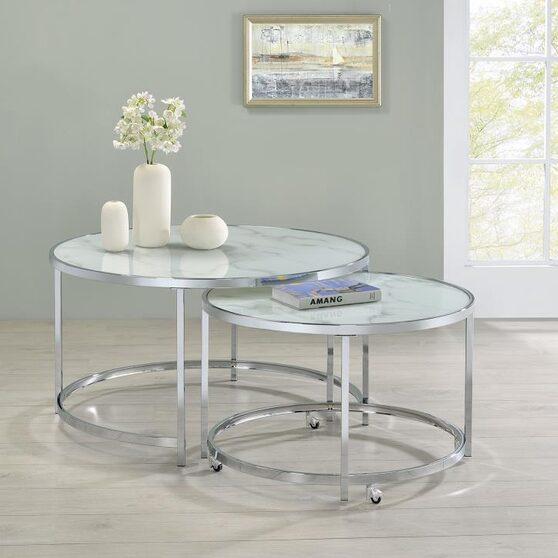 2 pc nesting table set