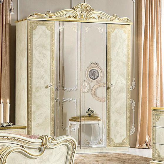 Classical style Italian 4dr wardrobe