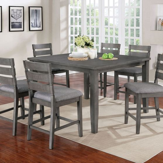 Gray Transitional Counter Ht. Table