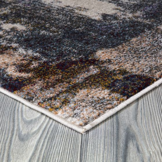 Jewel 5'2 X 7'2 Transitional & Contemporary Abstract, Geometric& Distressed Multi area rug