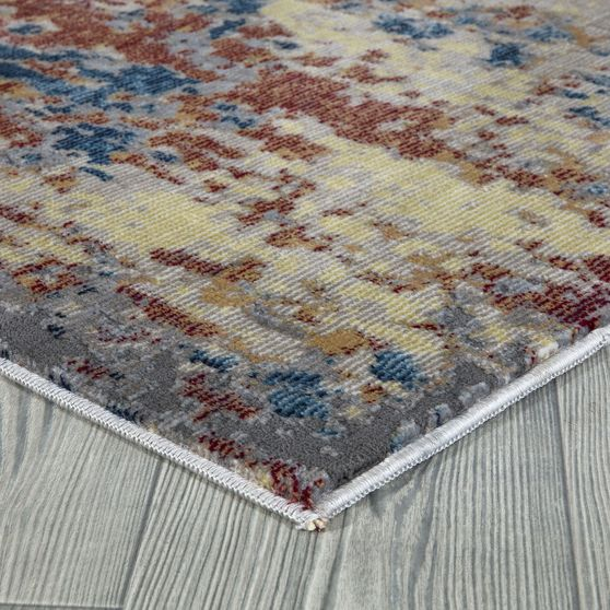 Mirage 5'2 x 7'2 Modern & Contemporary Abstract Multi area rug
