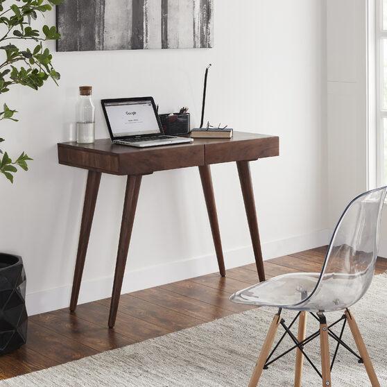 Contemporary 100% hardwood 39 pratt office desk