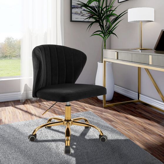 Contemporary channel tufting office chair