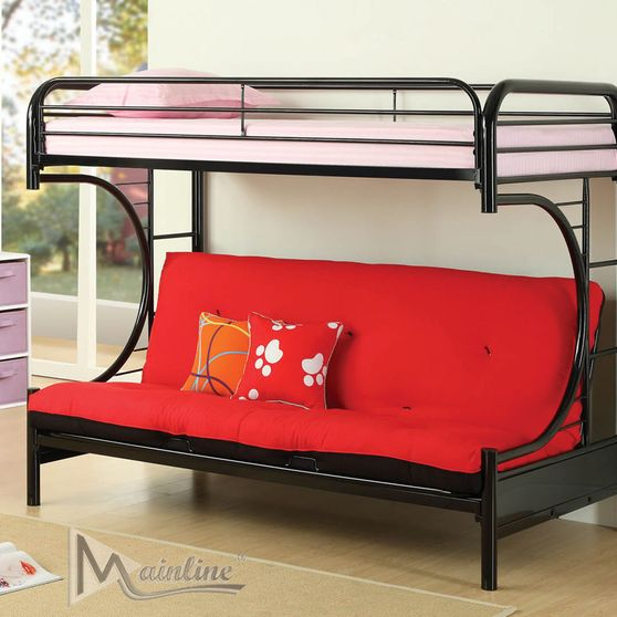 Twin/Futon post bunk bed