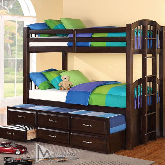 Casual style kids bunk bed