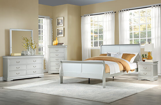 Platinum twin bed