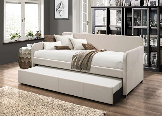 Fog fabric daybed & trundle (twin size)