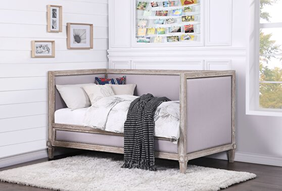 Weathered oak daybed (twin size)