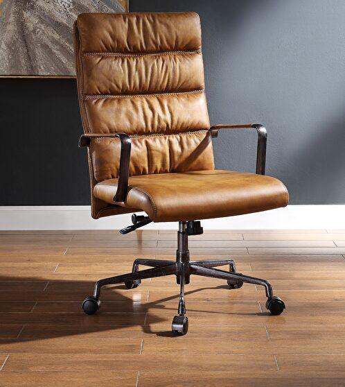 Sahara top grain leather office chair