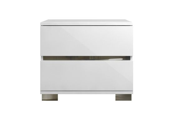 Italy made high-gloss lacquered night stand