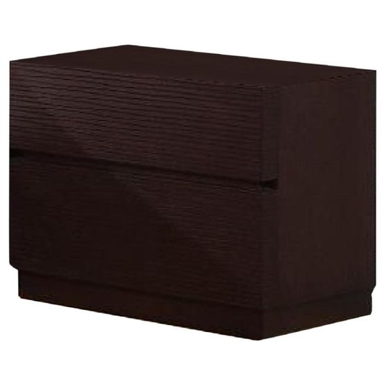Wenge solid wood night stand