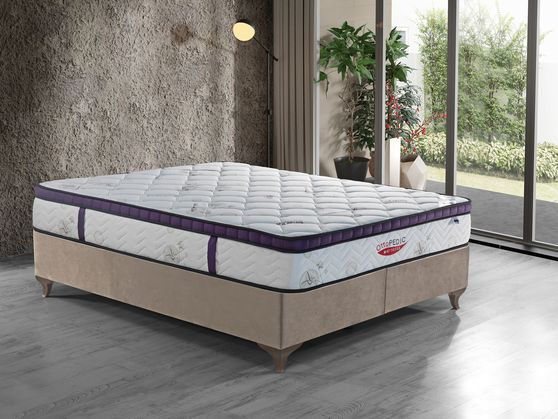 11-inch hard euro top bamboo mattress