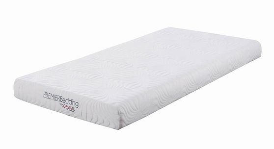 Joseph white 6-inch twin xl memory foam mattress