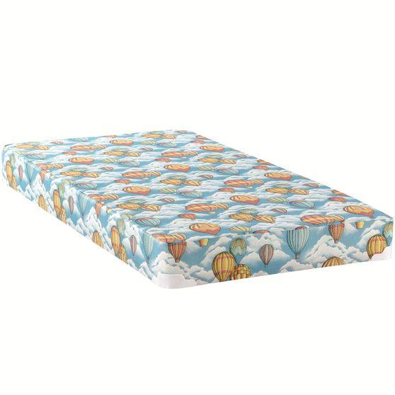 Twin/full kids mattress w/ built-in bunkie board