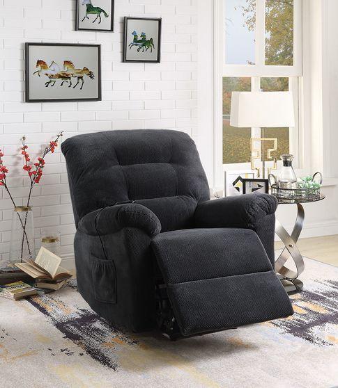 Charcoal power lift recliner