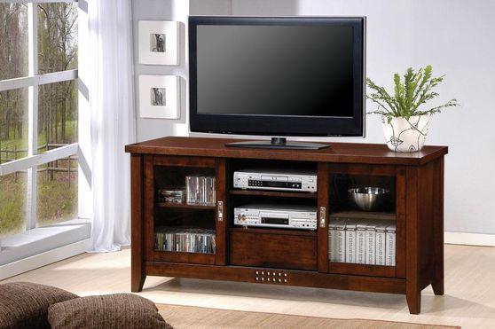 Walnut Traditional TV Stand