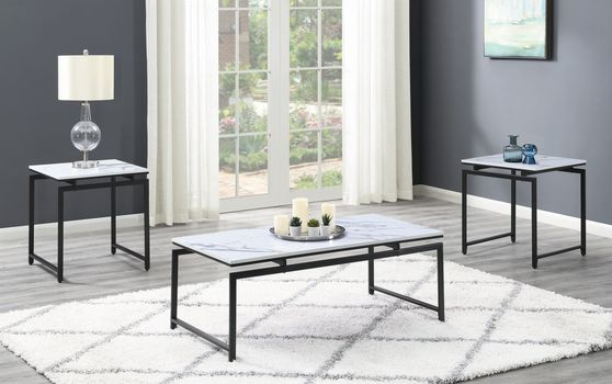 3 pc occasional coffee tables set
