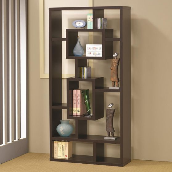 Modern bookcase / display unit