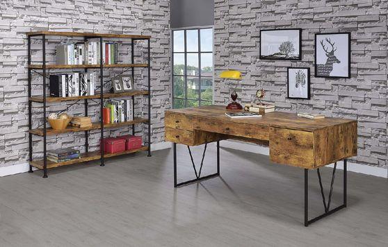Nutmeg wood finished desk