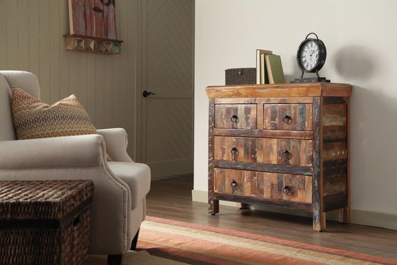 Reclaimed wood console/cabinet