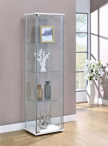 Glass curio cabinet / display