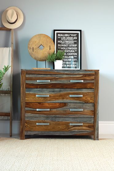 Accent cabinet in sheesham wood