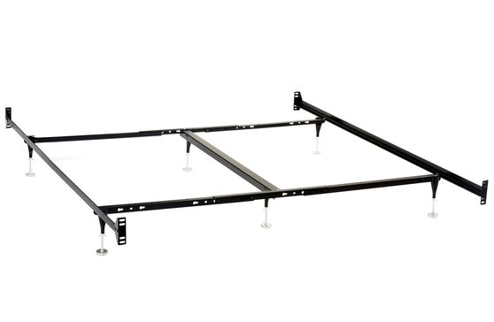 Adjustable bed frame for king/queen beds