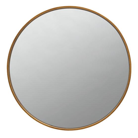 Slim frame mirror