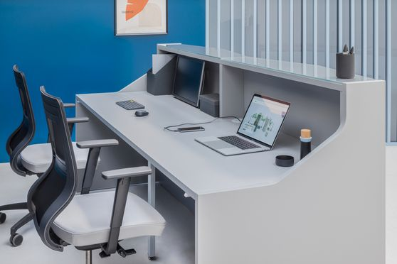 EU Designer Reception / office desk extras
