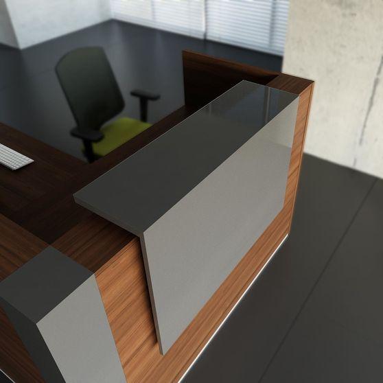 Contemporary office reception / computer desk