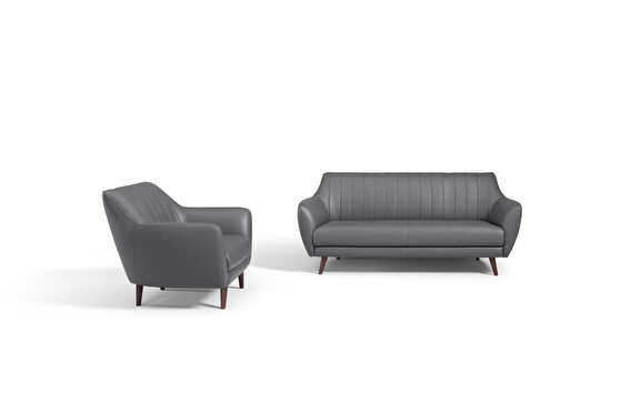 Full thick leather living room couch