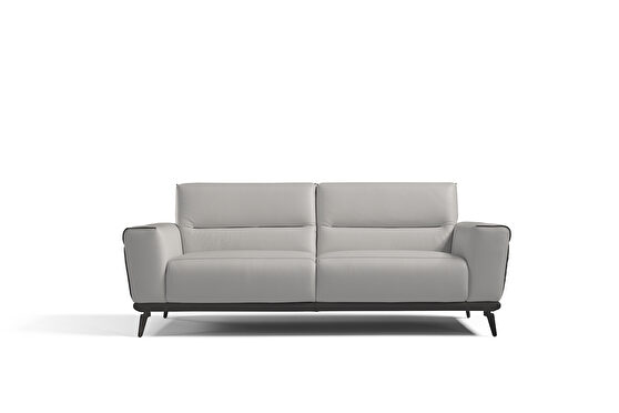 Contemporary all leather stylish sofa