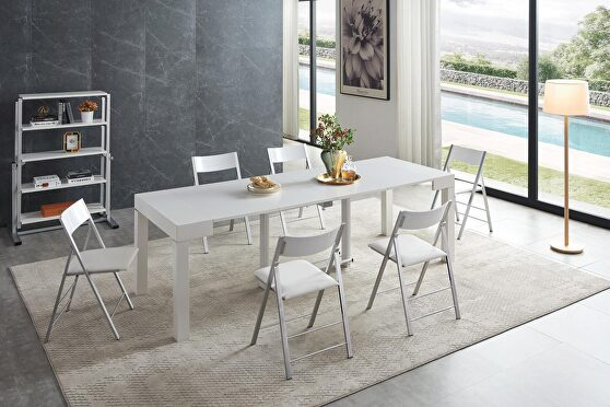 Transformer versatile dining table