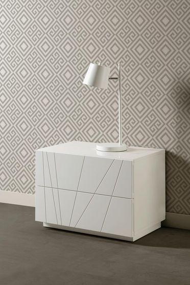 Modern white night stand