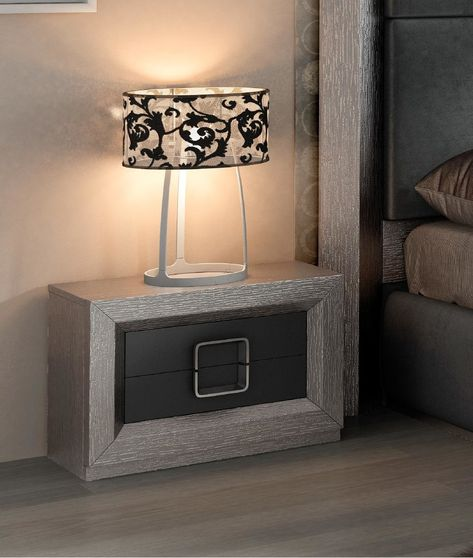 Gray modern Spain-made night stand