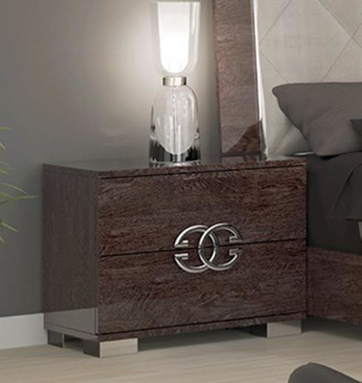 Stylish high gloss Italy-made night stand