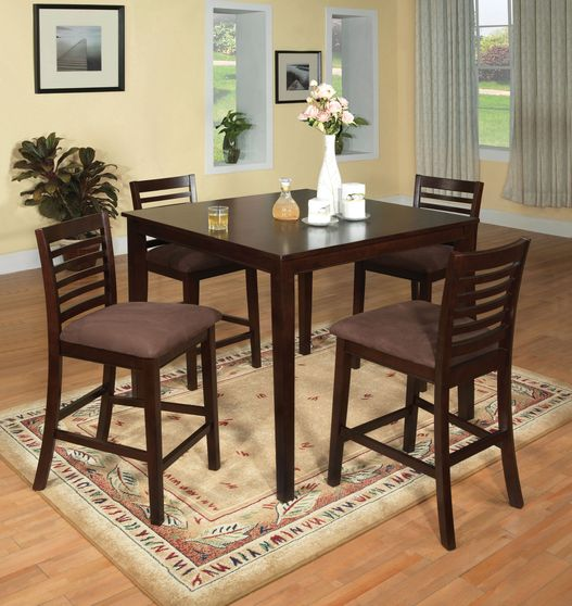 Counter height 5pcs table group