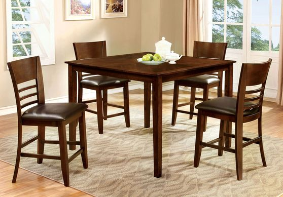5pcs set of counter height table + chairs