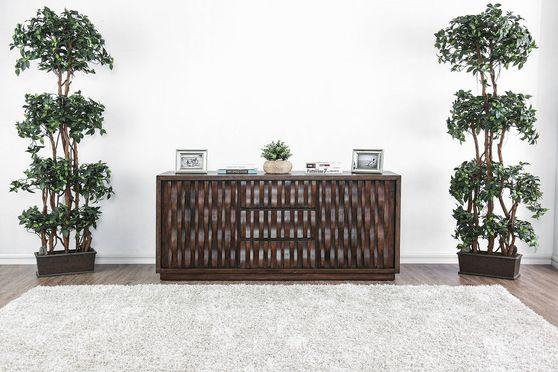 Warm chestnut wood TV Stand / display