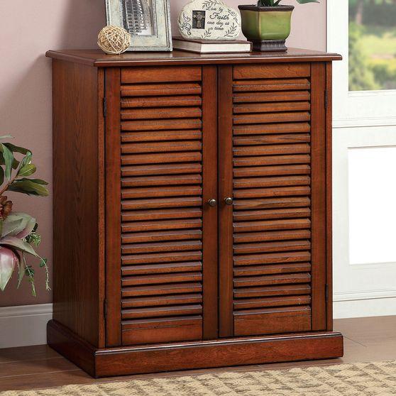 Oak Rustic Shoe Cabinet