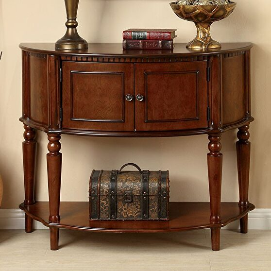 Cherry traditional side table