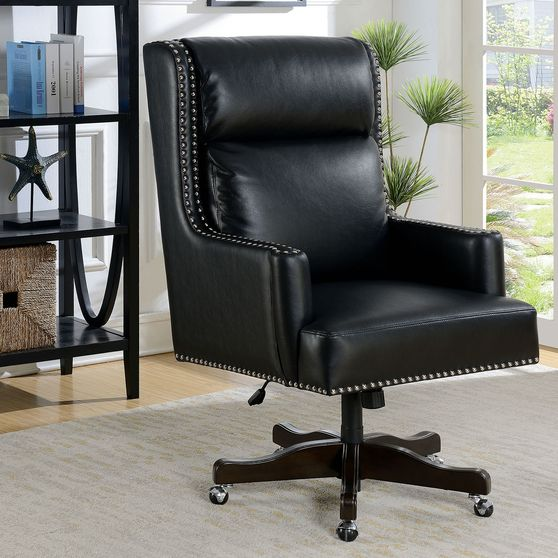Black Transitional Office Chair